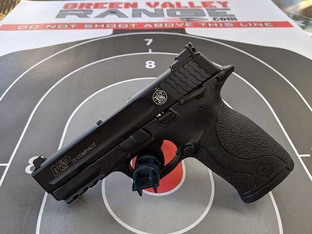 Smith and Wesson M&P22 Compact