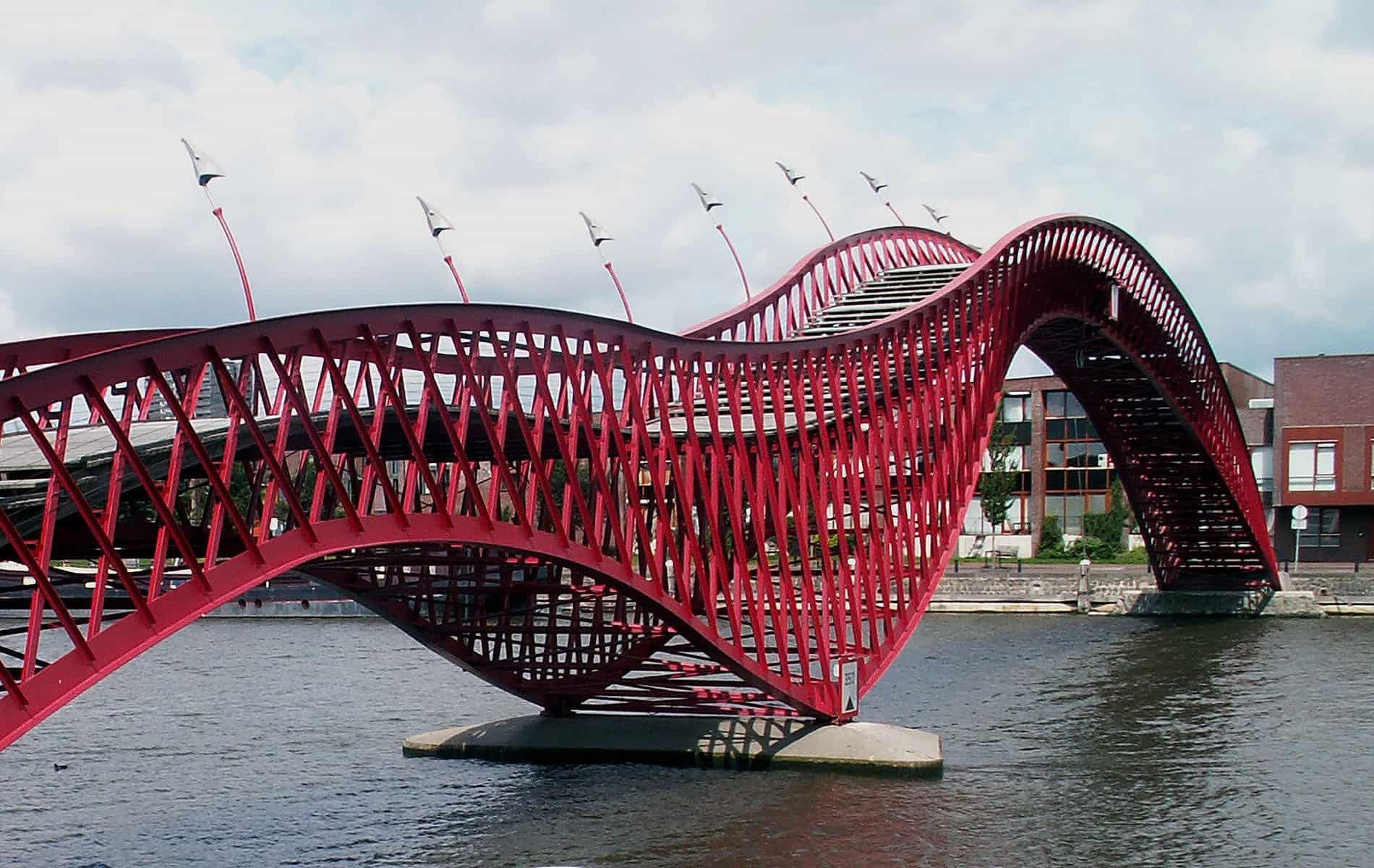 Architecture cruise Amsterdam