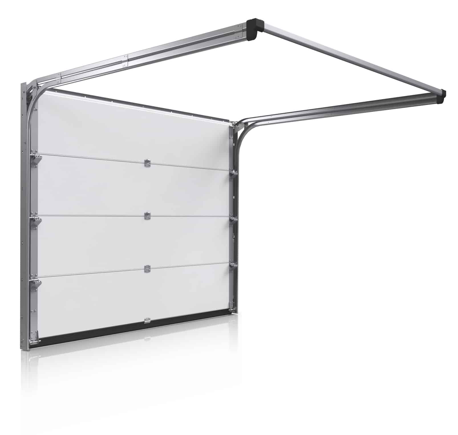 Våra radgarage standardmaterial - Garageportar Hörmann takskjutport