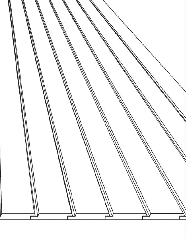 Skiss Spårpanel fasad