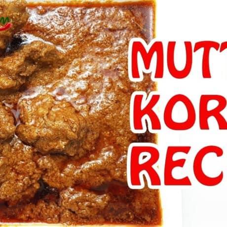 Mutton Korma Recipe (Mutton Curry Recipe)