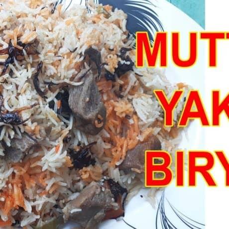 Muradabadi Yakhni Mutton Biryani Recipe| Yakhni Mutton Dum Biryani | Mutton Yakhni Pulao Recipe