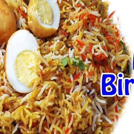 Easy Egg Biryani Recipe | Easy Egg Dum Biryani | Egg Biryani in Kadhai | Anda Biryani