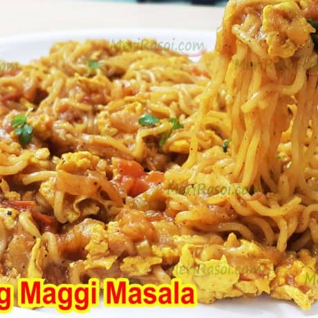 Egg Maggi Recipe | Egg Maggi Masala | Breakfast Recipe | Street Style Anda Maggie Masala