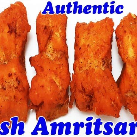Amritsari Fish Recipe | Fish Fry Recipe | Authentic Punjabi Fish Recipe