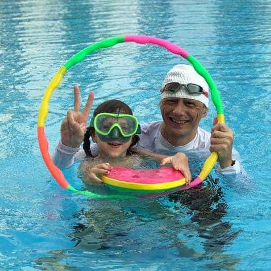swimming teacher koen in hanoi