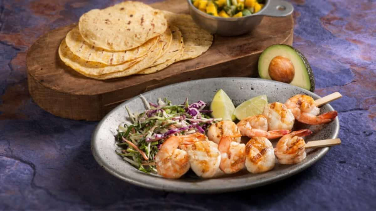 Grilled Shrimp and Scallop Tacos