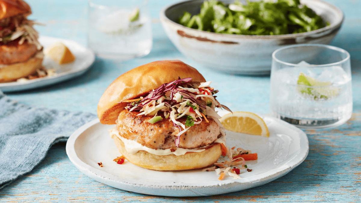 Atlantic Salmon Burgers