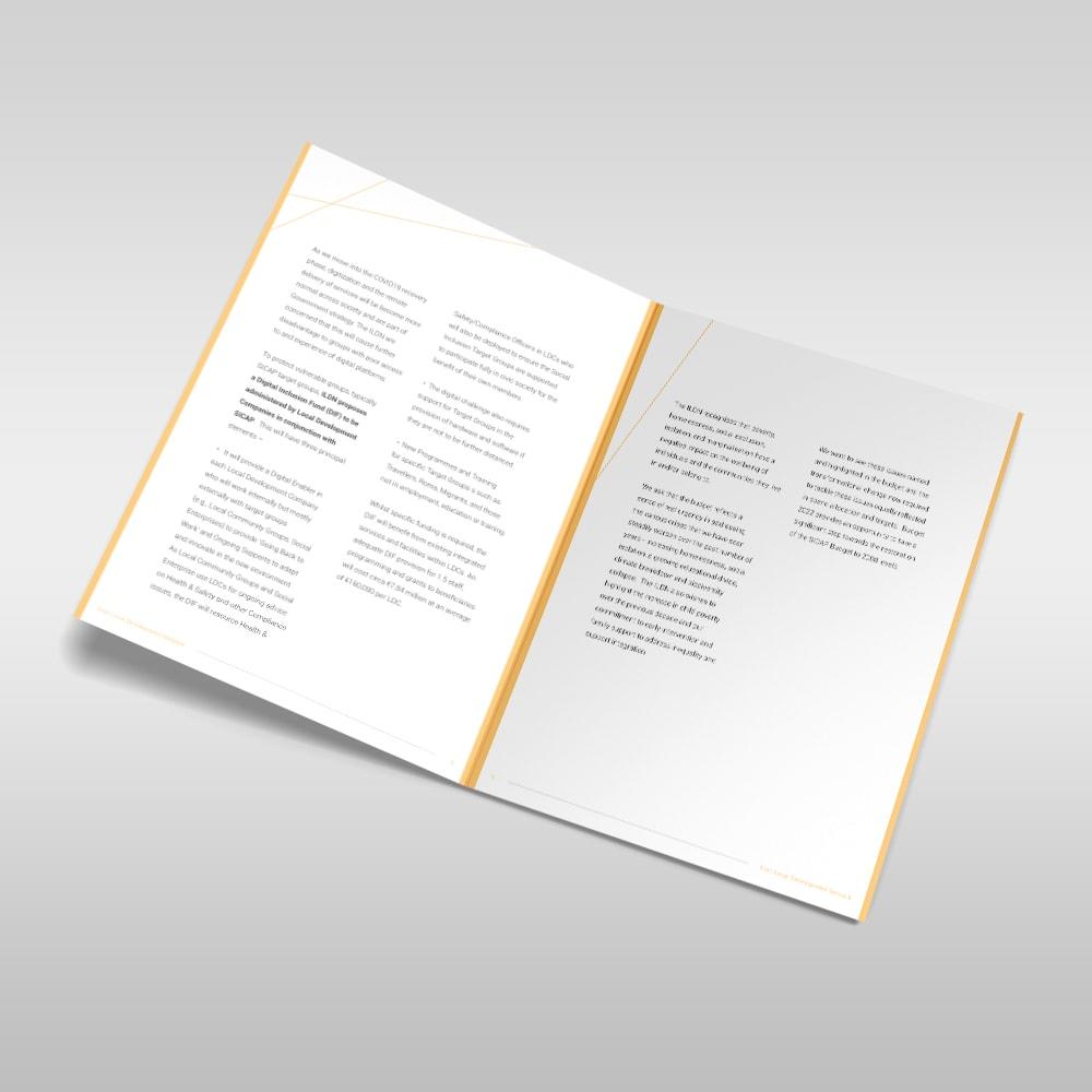 IDLN - Brochure Design - Designwest