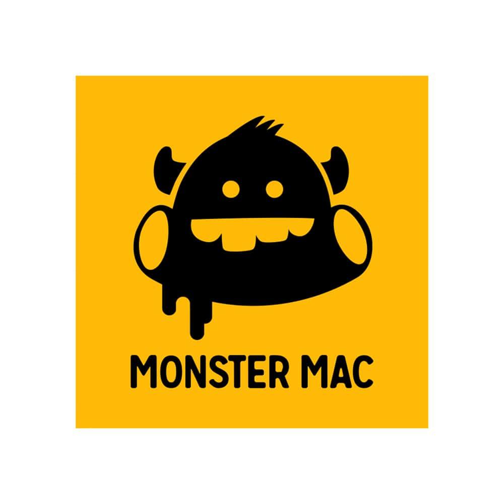 monster mac logo