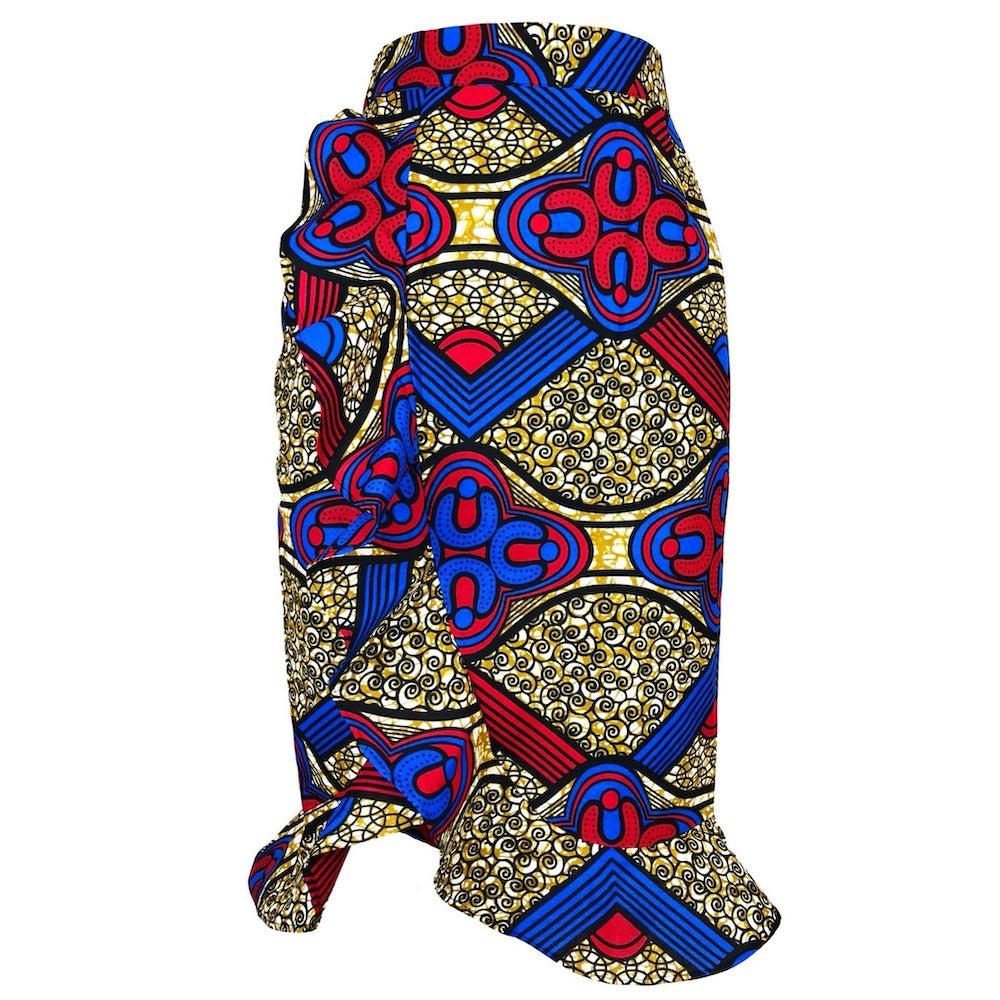 Sade Ruffled Faux Wrap Skirt by Yetunde Sarumi 15