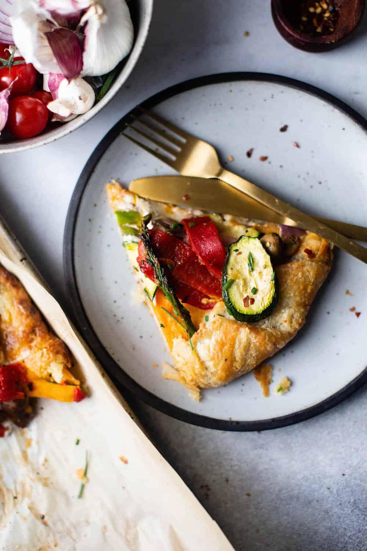 roasted vegetable tart diala's kitchen