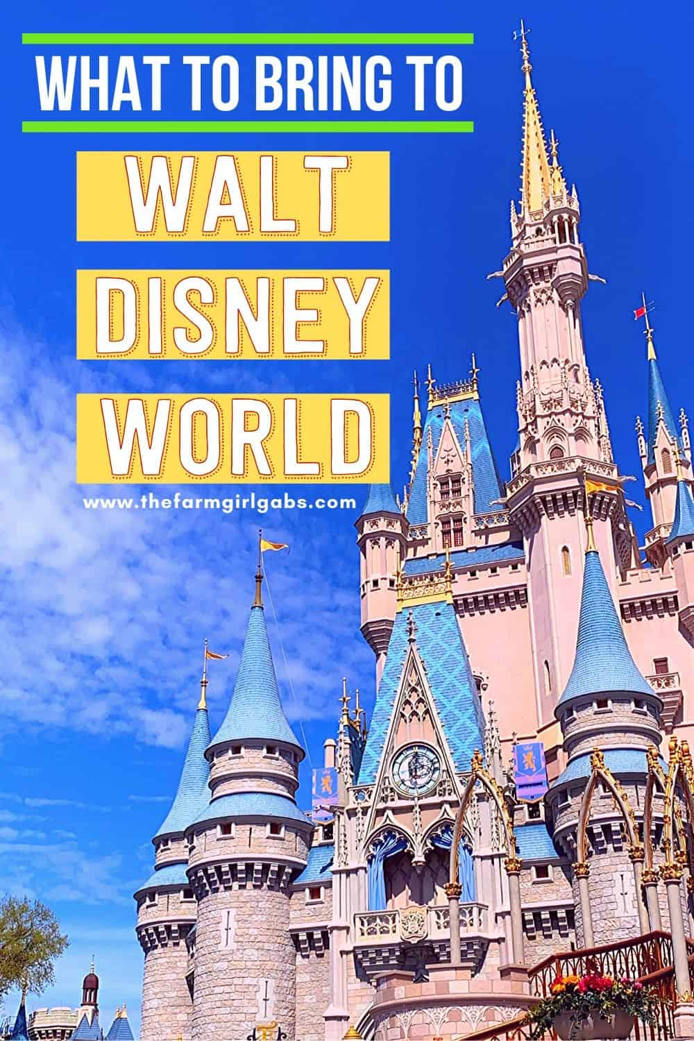 Free Disney Packing List! Heading to Walt Disney World Soon. Pack more fun and print this Essential Walt Disney World Packing List so you don't forget any of the Disney Packing essentials! Plan your perfect Disney World Vacation with these helpful Disney vacation tips. Print out this free Disney Packing List before you leave. #disneyworld #disneypackinglist #disneyhacks #disneytrip