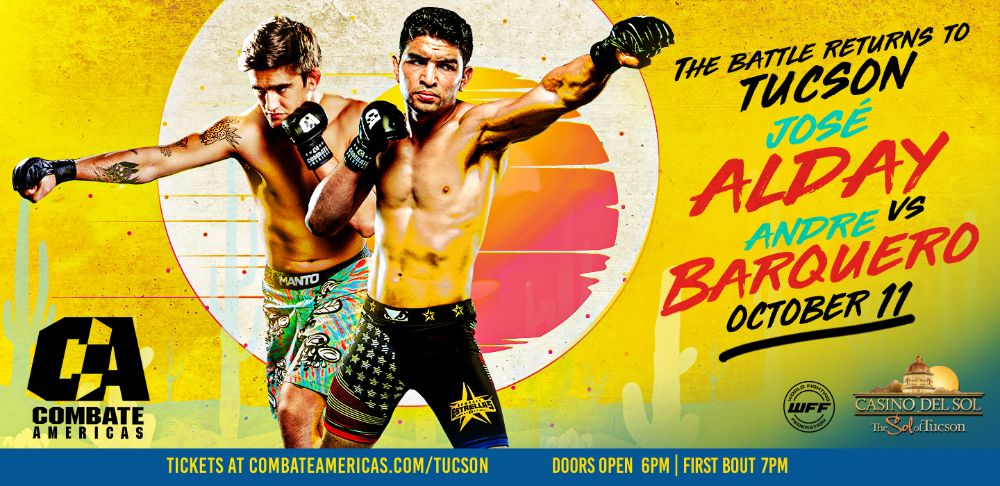 COMBATE AMERICAS Tucson AZ Oct 2019 - MMA Fight Radio
