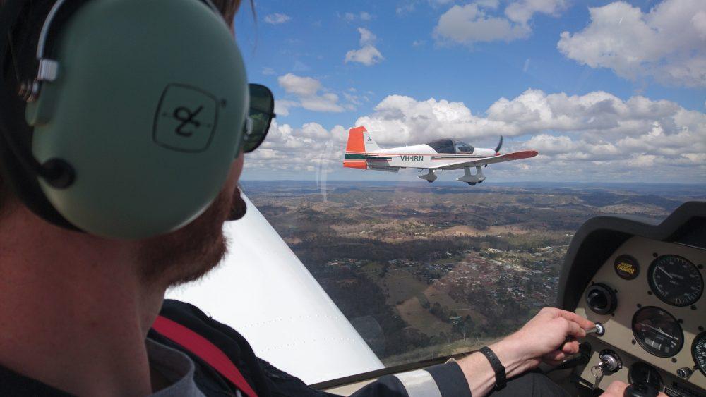 Flight training for formation endorsement