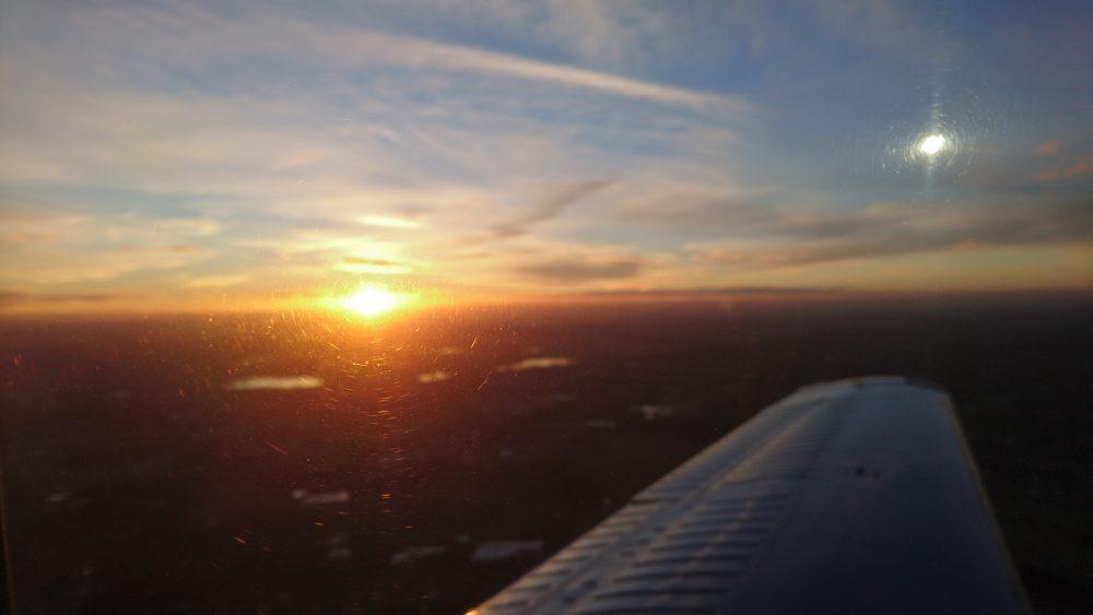 Sunset over Sydney - AAA Sydney Harbour luxury twilight flight