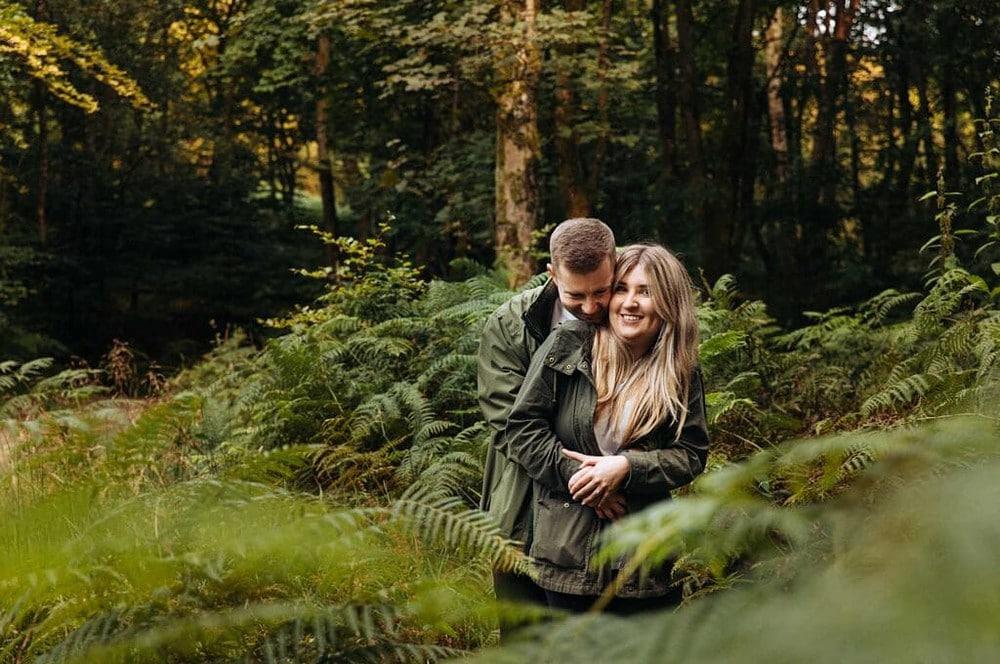 engagement photoshoot in lancashire