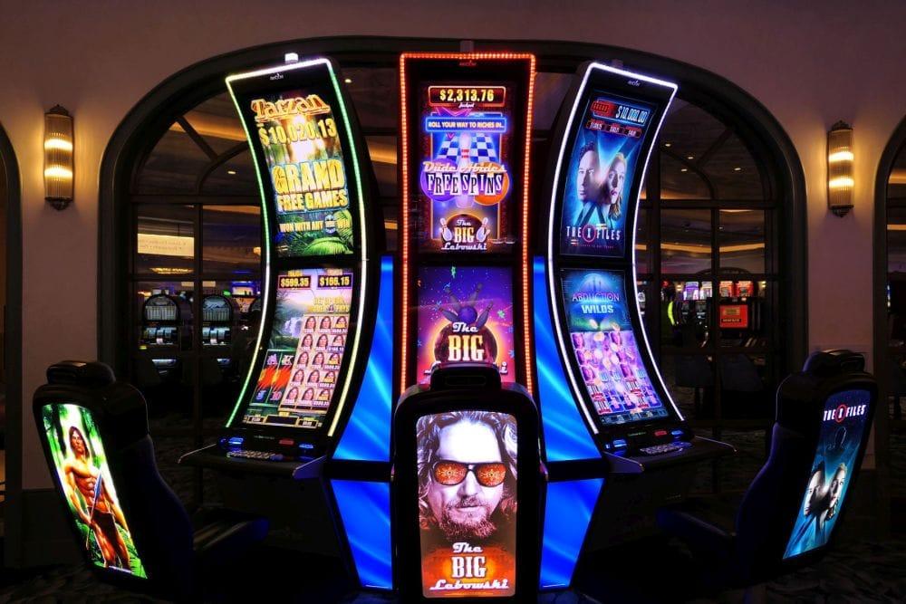 Mooie gokkasten in Las Vegas
