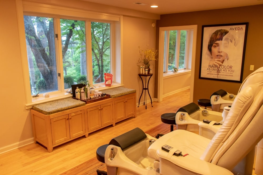 Crescent Hotel Spa manicure and pedicures