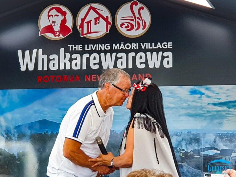 Nose-Greeting-Maori-New-Zealand Māori Culture