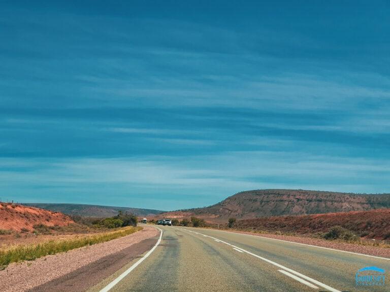 Driving-South-Australia-Pale-Blue-Skies