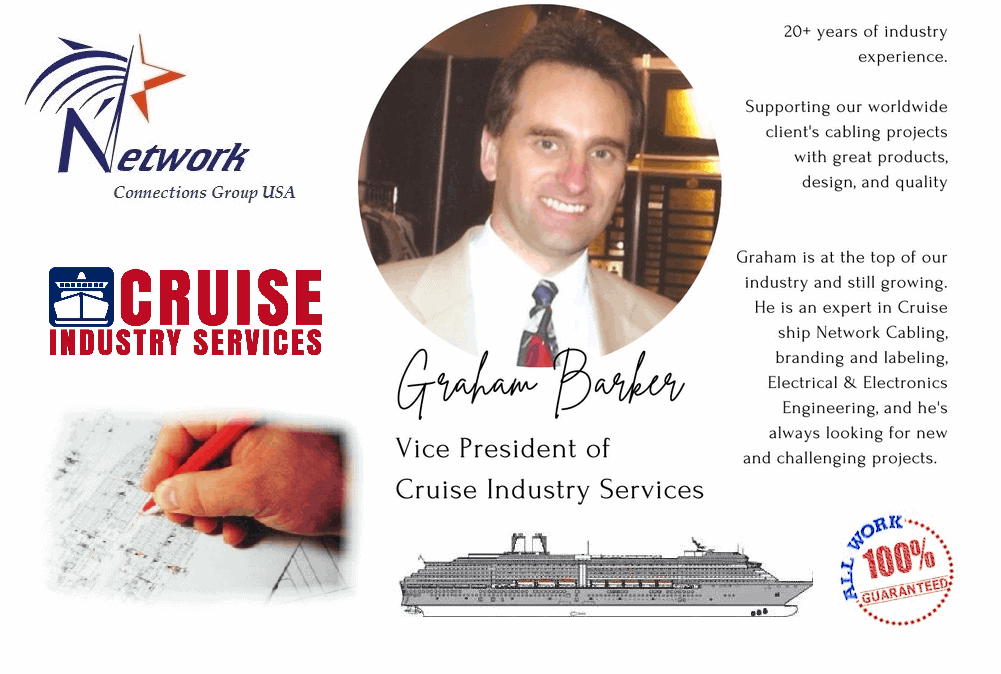 Cruise Ship cabling