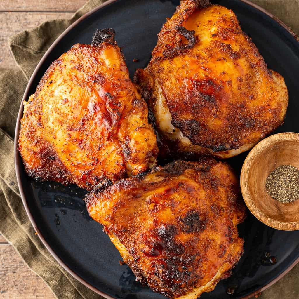 air fryer chicken thighs