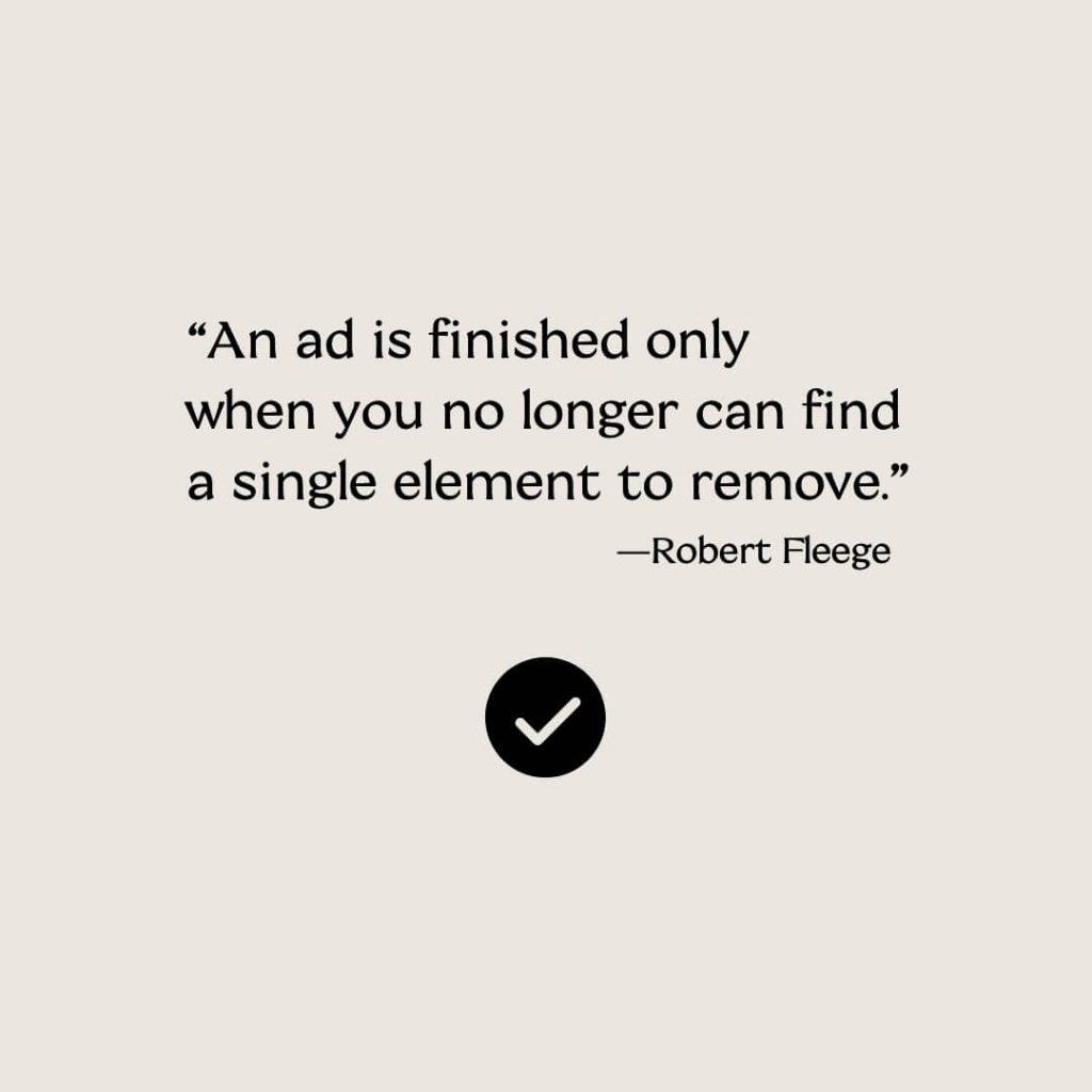 marketing ad quotation