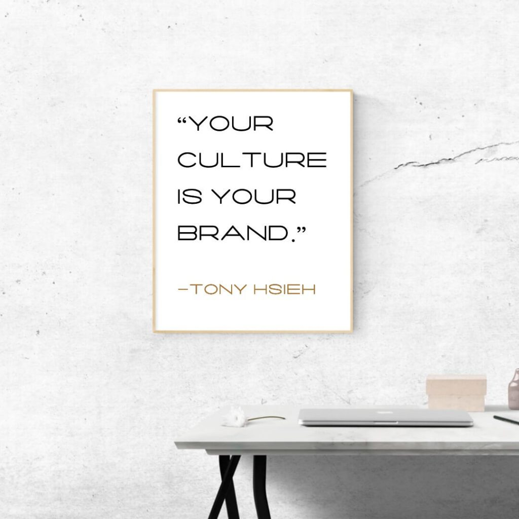 quote about brand culture