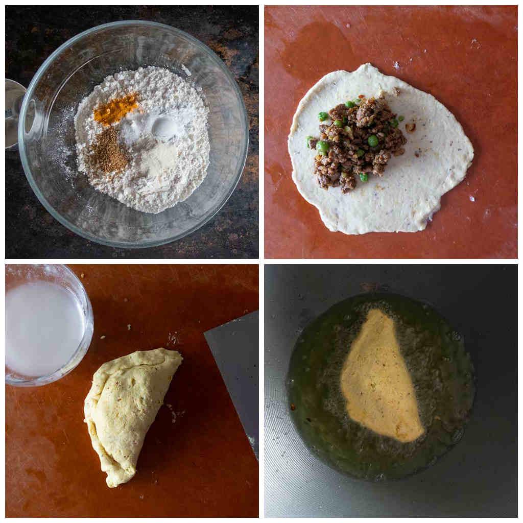 gluten-free samosa