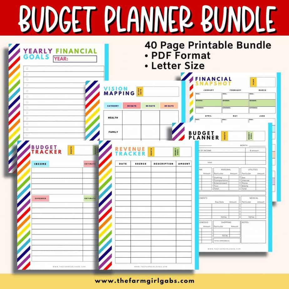 Budget Planner finance tracker
