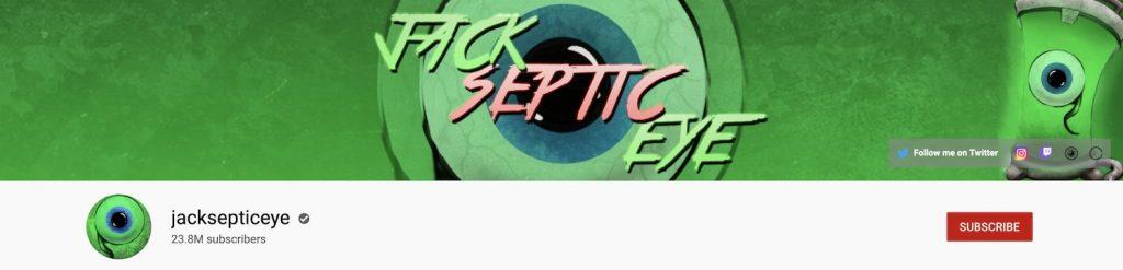 Jack Septic Eye Channel Art