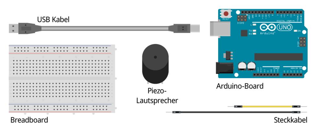 Bauteile Piezo Lautsprecher
