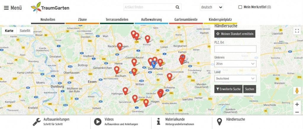 Leadgenerierung-Händlersuche-Übersicht-ObjectCode GmbH
