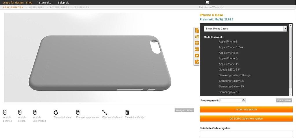 3D-Konfigurator_scopefordesign_Cases - ObjectCode GmbH