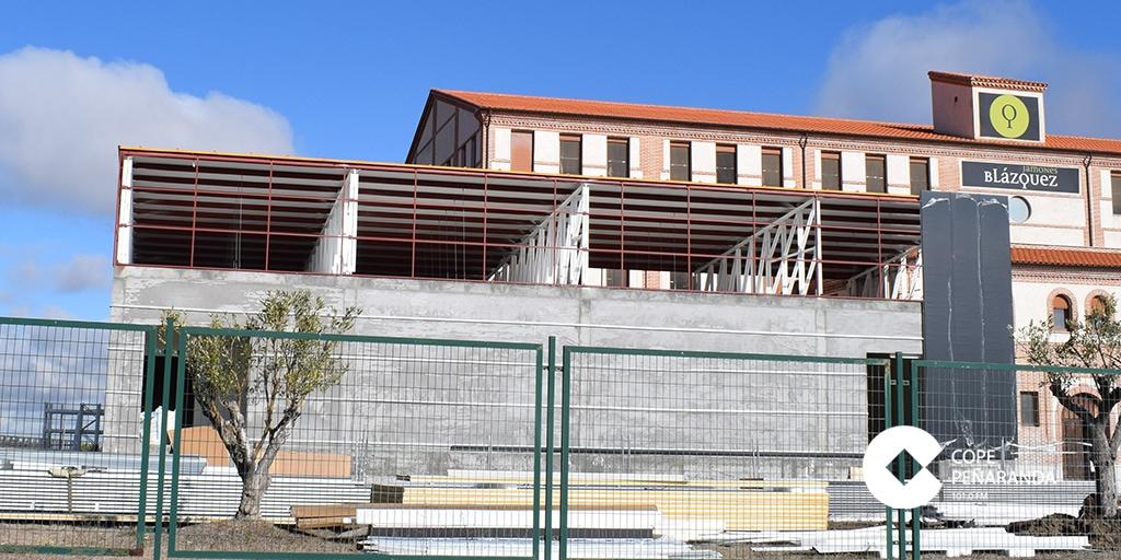 Las instalaciones de Jamones Blázquez en Peñaranda.