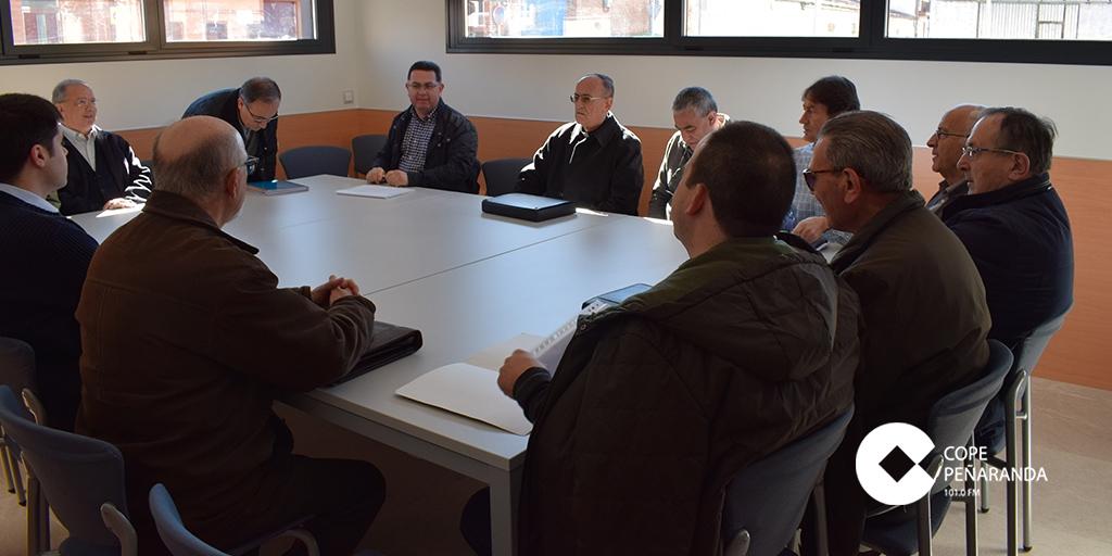El obispo de Salamanca, Carlos López, se reunió con los sacerdotes del arciprestazgo.