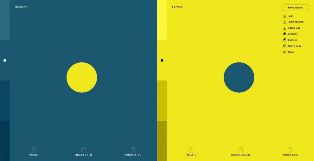 shapefactory color inspiration