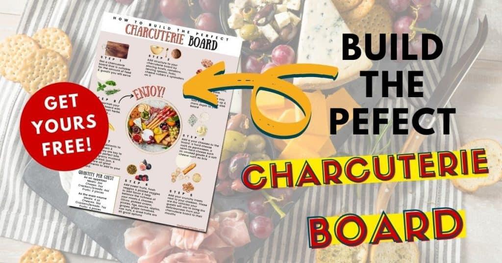 build the perfect charcuterie board