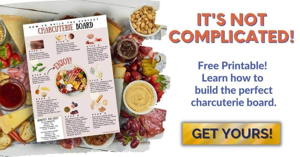 How to build the perfect charcuterie board free printable