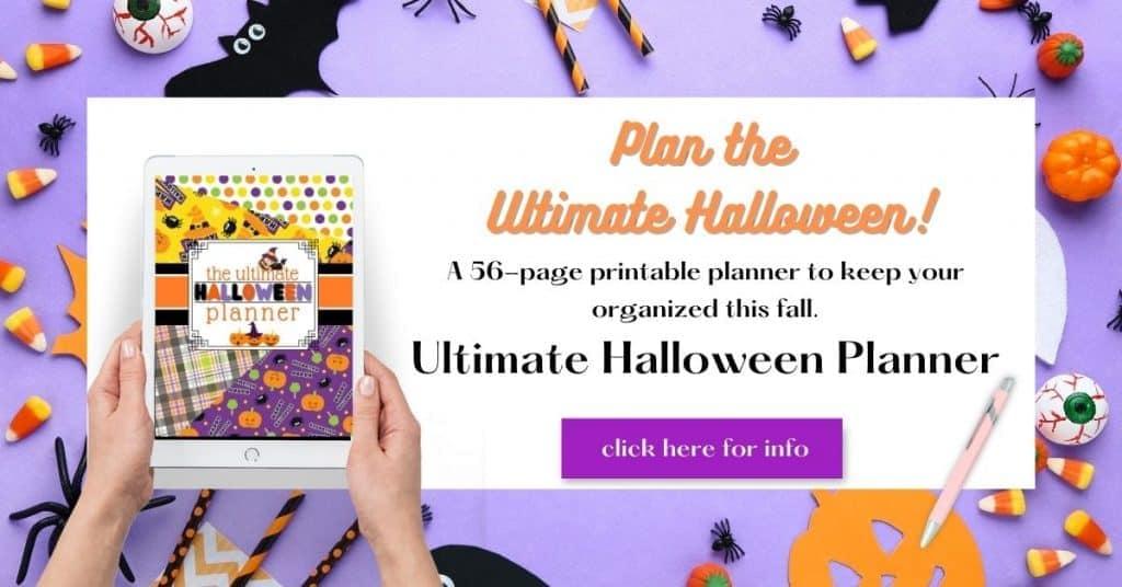 Ultimate Halloween Planner
