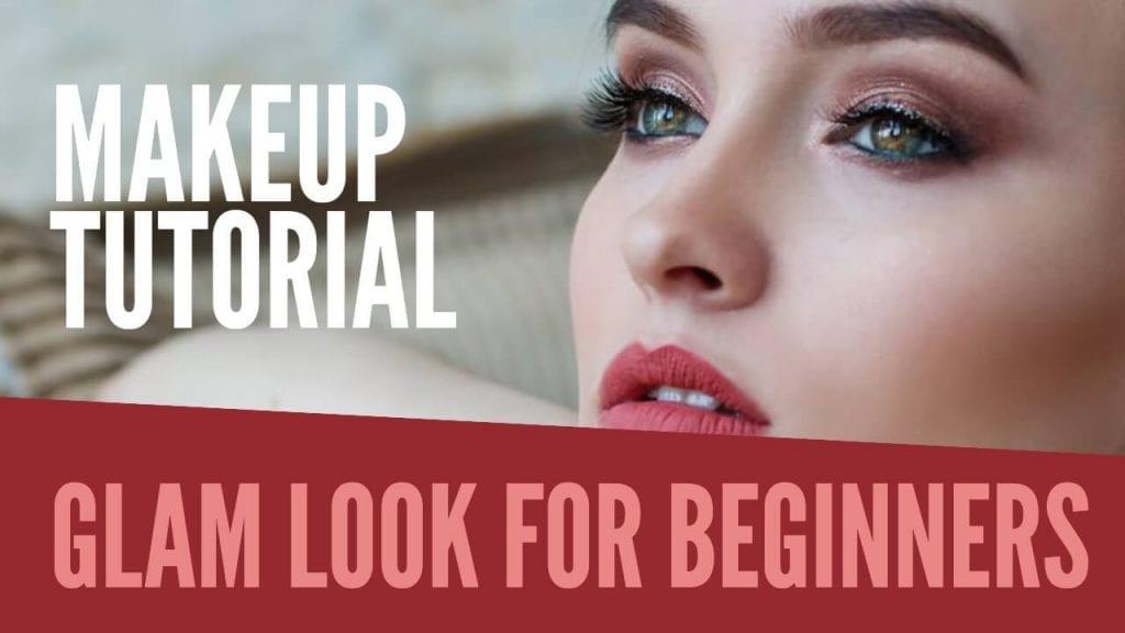 Makeup YouTube thumbnail fonts