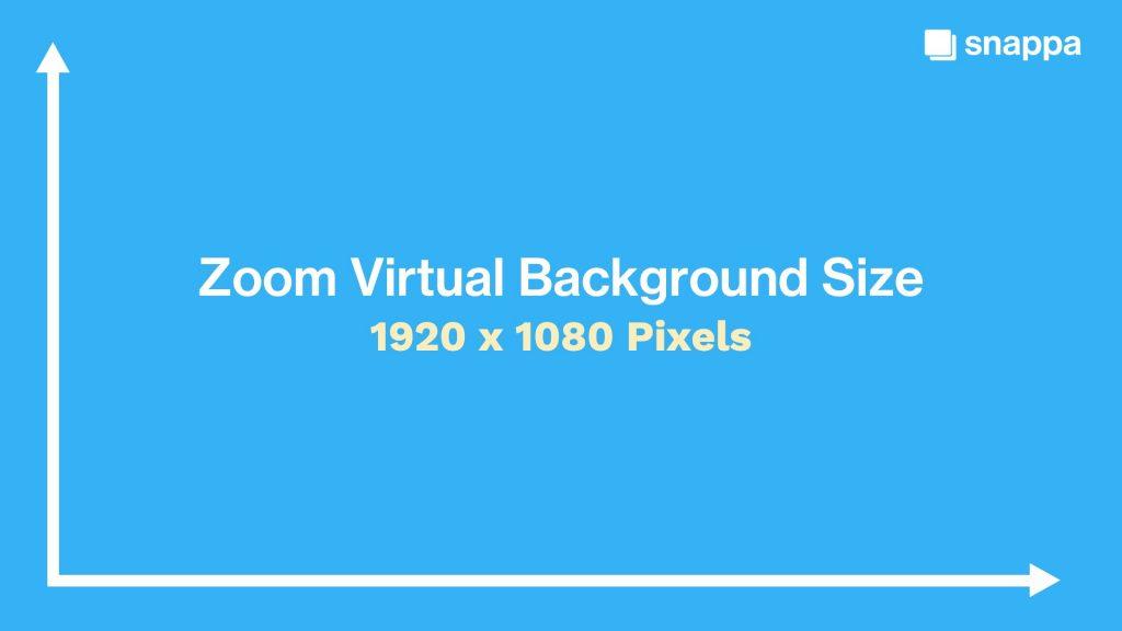 Zoom Virtual Background Size