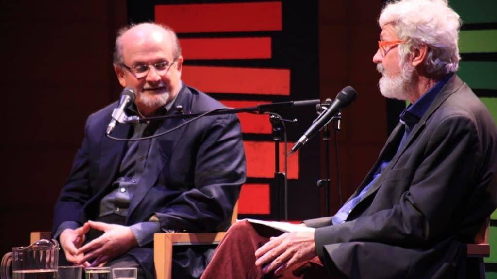 Salman Rushdie in conversation with Hal Wake
