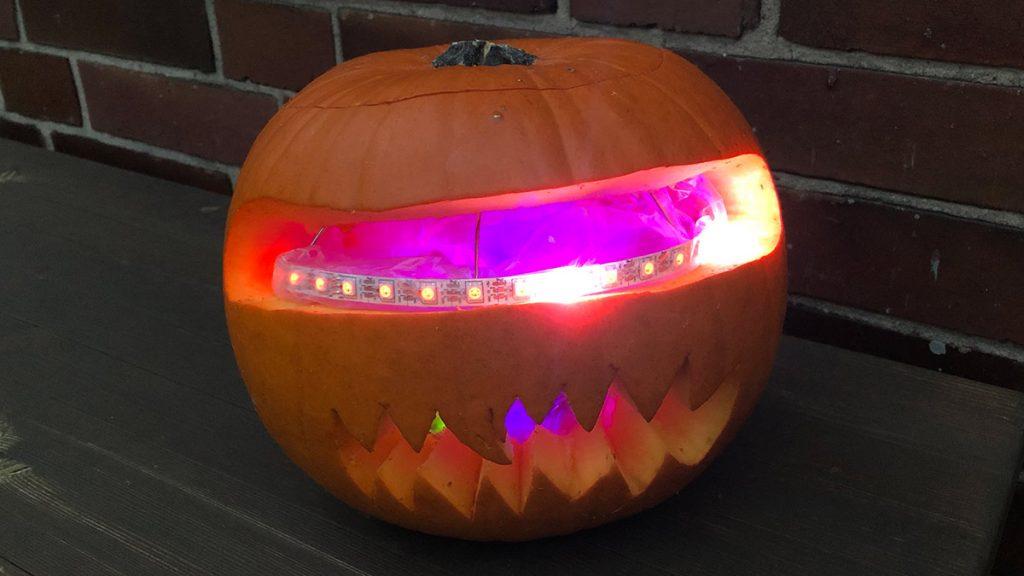 Arduino Halloween Kürbis