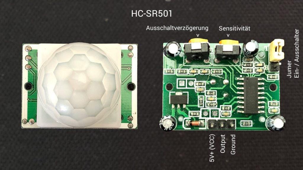 HC-SR501 PIR Arduino Bewegungssensor