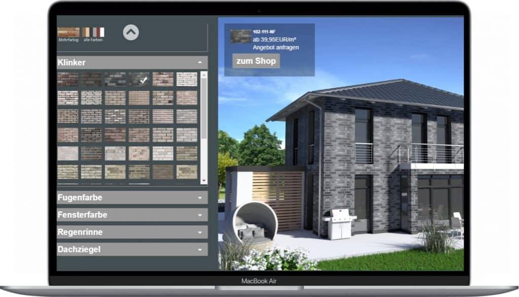 Klinker-Konfigurator-Screenshot-software