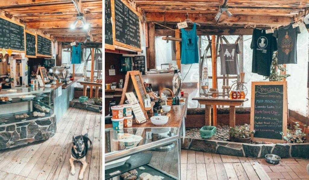 Mountain Sage Cafe in Groveland, California.