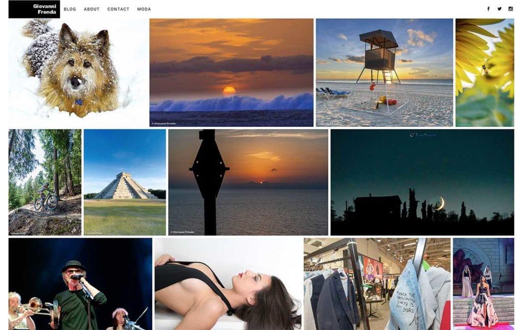 Seguite anche il nuovo sito dedicato alla fotografia, moda, eventi aziendali, travel, hotel... Sfogliate il nuovo sito:www.giovannifrenda.com