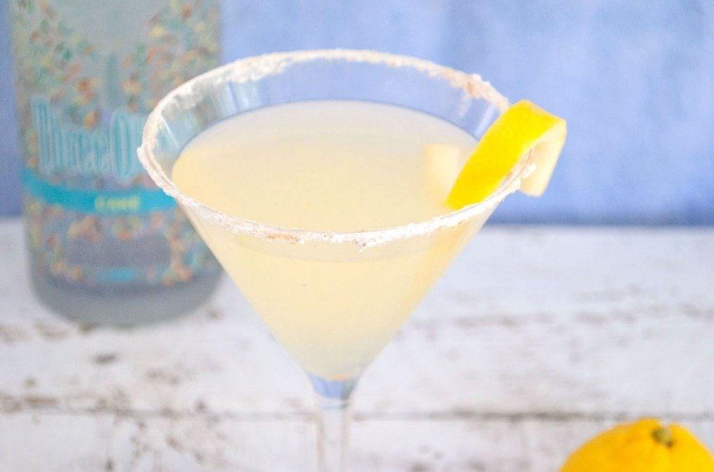 Lemon Square Martini